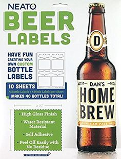 free beer label maker next steps cut out the labels apply with