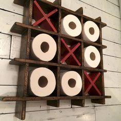 Unique Toilet Paper Holders ideas that Every Bathroom Needs. … Unique Toilet Paper Holders ideas that Every Bathroom Needs. Diy Home Decor Rustic, Cheap Home Decor, Farmhouse Decor, Decor Diy, Decor Room, Country Decor, Country Living, Farmhouse Style, Bedroom Decor