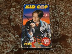 Kid Cop (VHS, 1998) OOP Paramount Pierre David/Tim Thomerson Family *NOT ON DVD*
