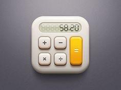 #calculator #app #app icon #real icon #skeuomorphism