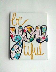 Diy canvas art 776167317009326306 - BeYOUtiful Canvas painting, Beyoutiful sign, College canvas painting decor, canvas painting Source by Canvas Crafts, Diy Canvas, Dorm Canvas Art, Easy Canvas Art, Abstract Canvas, College Canvas Paintings, Cute Canvas Paintings, Love Canvas Painting, Painted Canvas