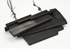 Julia Turner - 2010 - wood, steel, paint, moonstone, string
