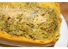 My Happily Ever After: Garlic Pesto Twice Baked Spaghetti Squash *Healthy-ish Recipe*