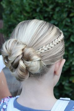 LDS Activity Day Ideas: Learning New Hairstyles!