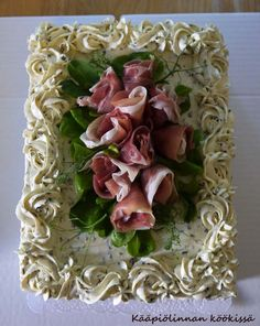 Finger Foods, Asparagus, Party Time, Cabbage, Vegetables, Cakes, Savoury Cake, Savory Snacks, Cook