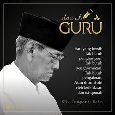 Muslim Quotes, Islamic Quotes, Quotes Indonesia, Teachers' Day, Teacher Quotes, Islamic Pictures, Qoutes, Humor, Doa