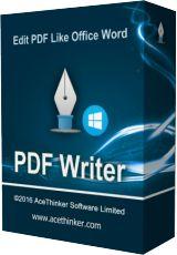 Acethinker PDF Writer 1.0 Giveaway