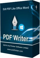 Acethinker PDF Writer 1.0 Giveaway
