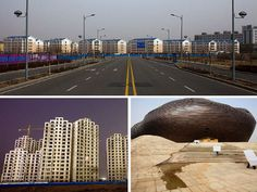 The Empty City of Ordos, China: A Modern Ghost Town :) Come visit before the tourists (or locals) do!