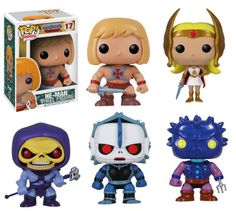 I just want Skeletor Funko POP Masters of the Universe Set of 5 Vinyl Figures… Cartoon Toys, Cartoon Tv Shows, Cartoon Faces, Cartoon Art, Pop Vinyl Figures, Funko Pop Figures, Random Gifts, Pop Figurine, Cartoon Painting