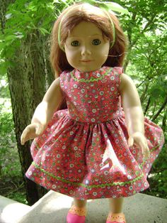 18 Inch Doll Sundress for Chatty Cathy and by gofancynancy on Etsy, $19.99