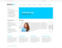 Perfect co joomla template by html5 web templates joomla business developing joomla template by html5 web templates cheaphphosting Image collections