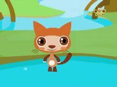 """Here we go looby loo"" Children song 3d Cartoon - YouTube"