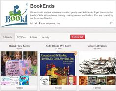 BookEnds Student Volunteer, Non Profit, Bookends, Ads, Activities