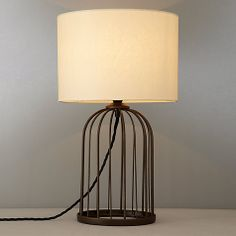 157 best lighting images on pinterest tea pots ceiling lamps and buy john lewis cosette wire cage lamp online at johnlewis greentooth Choice Image