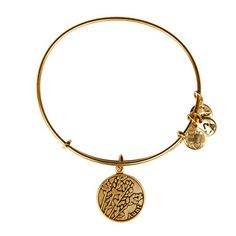 Aunt Charm Bracelet | Alex and Ani  An eternal supporter and important role model, an aunt is a special person with whom you create everlasting memories. Symbolic of divine connection, the lavender exudes a strong yet graceful energy that transmits all that is negative into light. Give or wear the Aunt Charm as an illuminating symbol of admiration and to experience love's bright power.