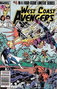 West Coast Avengers # 4 Marvel Comics Vol 1