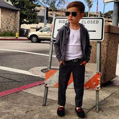 Dolce and Gabbana sweater, Gucci shoes and belt | Alonso Mateo, The 5-Year-Old Boy Who's Become an Instagram Style Icon - The Cut