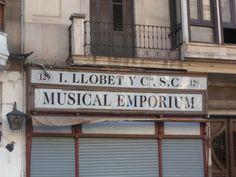 Musical EMPORIUM, La Rambla, Barcelona.