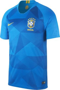 2c9be1e873d Nike 2018 Brasil CBF Stadium Away Men s Soccer Jersey Football 101