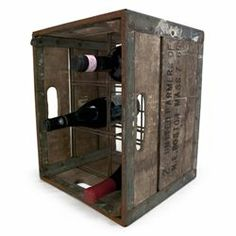 Vintage Wine Crate
