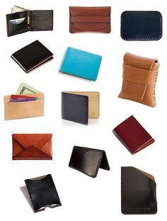 The holidays is a good excuse to buy something leather and scrumptious for the men in our ...