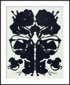 Art Print 'Rorschach' by Andy Warhol - Workspace ART