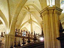 Orihuela -Cruceros del interior de la catedral.