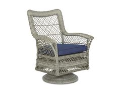 Klaussner Outdoor Outdoor/Patio Willow Swivel Rocking Dining Chair