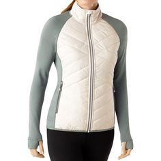 SmartWool Corbet 120 Jacket - Insulated, Merino Wool (For Women) in Natural