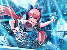 Cool Anime Girl, Beautiful Anime Girl, Anime Art Girl, Anime Love, Hatsune Miku, Kawaii Girl, Kawaii Anime, Chipmunks Movie, Dream Anime