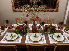 Decoração de Mesa de Natal Barata: Fotos, Inspiração, Ideias