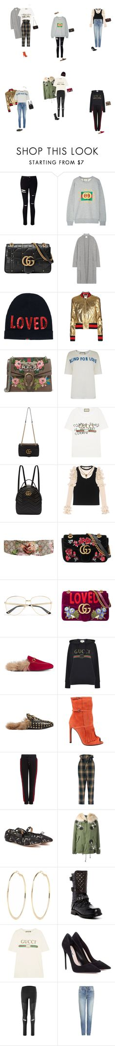 """Fall Gucci Looks!"" by wear2wonder ❤ liked on Polyvore featuring Miss Selfridge, Gucci, Madeleine Thompson, Public School, Vivienne Westwood Anglomania, Valentino, Mr & Mrs Italy, River Island, UGG and Miu Miu"