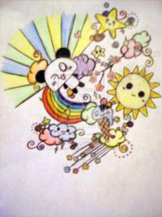 Kawaii Tattoo Design by DrUmMeRchik07.deviantart.com on @deviantART