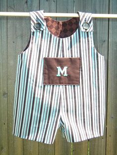 Boy romper/overalls: