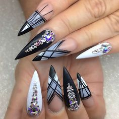 Monochromatic look take 3 ⠀⠀⠀ #nail #nails #nailart #nailwow #nail swag #instanails#ignails#nailstagram #handpainted#nailsofinstagram #nails2inspire #nailsoftheday #notd#nailaddict #nailartclub #nailpromote #naildesigns #nailartist #pointynails #nailprodigy #gelnails #sydneyartis #nailpro