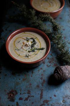 Comfort Food : : MINESTRA DI CECI E BACCALA' » PICI E CASTAGNE http://www.piciecastagne.it/2014/04/02/minestra-di-ceci-e-baccala/
