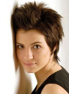 something like this I need the hair at the sides and back and beable to lay it down or spike it.