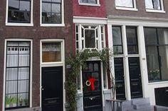 Smalste huis van de wereld in Amsterdam. #grachtenpand