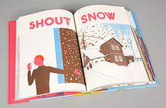 Seasons ILLUSTRATOR Blexbolex PUBLISHER Albin Michel and Enchanted Lion Books.