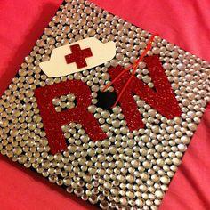 Registered Nurse Graduatoin Cap  20 Awesome Graduation Cap Ideas