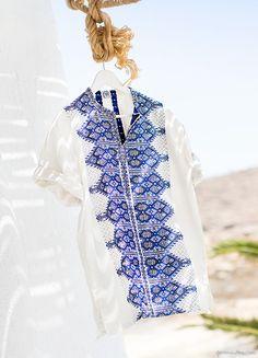 The Greek Tunic, Mykonos / Garance Doré