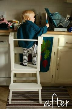 Lucy's learning tower - IKEA Hackers