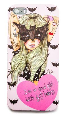 Valfré Bat Habits iPhone 5 Case | Dolls Kill