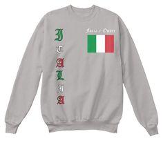 Italia Sweatshirt (Front & Back)