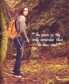New Moon..my favorite book in the whole series. I guess cause I cried my way through the entire thing. It sparked raw emotion.
