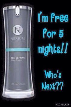 contact me to start your free 5 nights. Klrenard.nerium.com