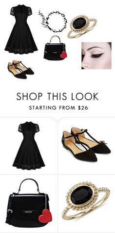 """""""mara argent outfit 3"""" by bellapaige-marshall on Polyvore featuring Accessorize, Love Moschino and Blue Nile"""