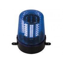 LED-ZWAAILICHT - BLAUW (12 V) HQ Power Disco 24/7
