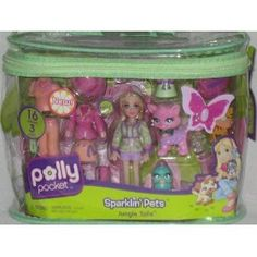 Polly Pocket Sparklin' Pets Jungle Tails